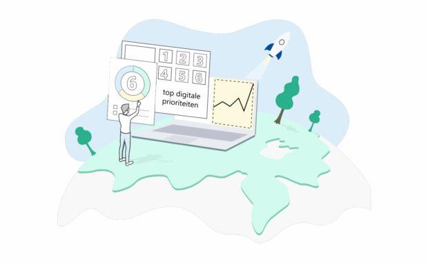 6 topprioriteiten op het gebied van digitalisering