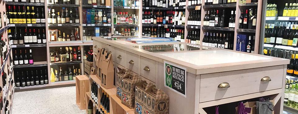 Een goede winkelinrichting als drankenhandelaar. winkelinrichting voor je drankenhandel