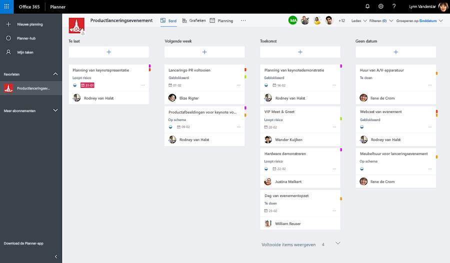 Microsoft Planner professionele agenda opstellen Je professionele agenda opstellen